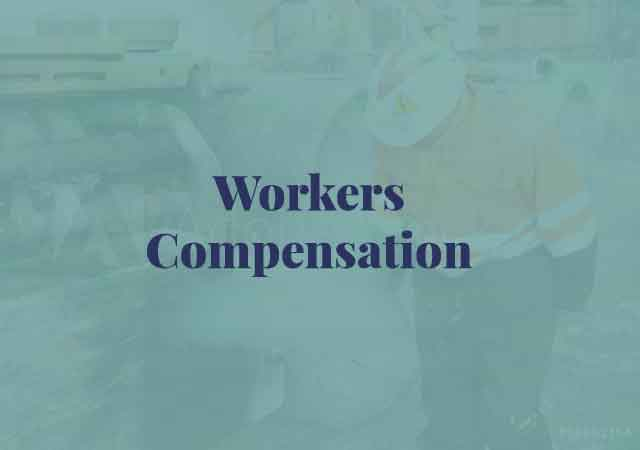 Workers Compensation, injured on the job