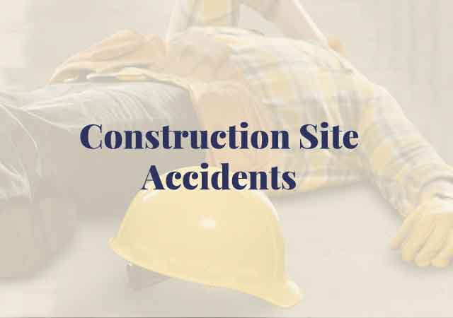 construction site accidents, scaffolding, ladders, serious injury, defective equipment, fires, explosions, gas or chemical leaks, electrical problems