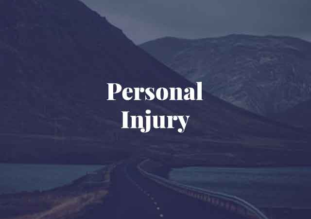 personal injury, property damage, serious physical harm, serious mental harm, slip and fall, car accidents, dog bite, medical malpractice, defamation, assault