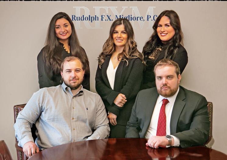 Rudolph FX Migliore Law PC Attorney and Staff